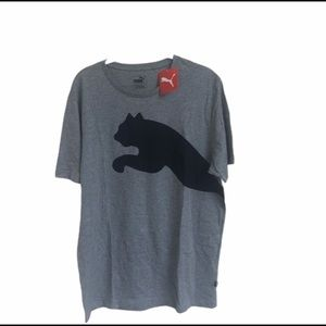 Puma Oversized Logo Gray Shirt